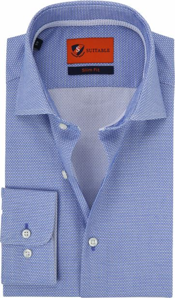 Suitable Blue Shirt