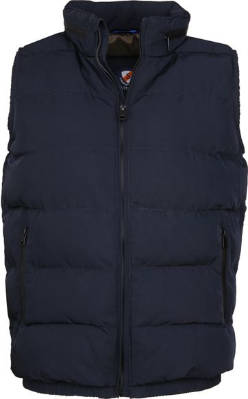 Suitable Bodywarmer Dirk Navy