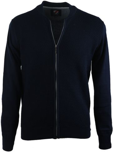 Suitable Bomber Vest Navy