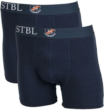 Suitable Boxershort 2Pack Navy