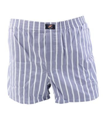 Suitable Boxershort Blauw wit gestreept
