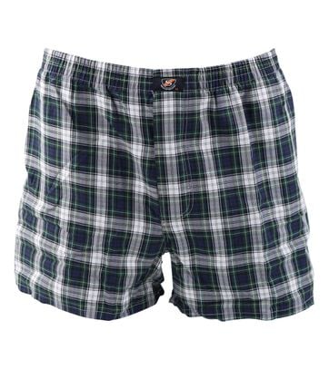 Suitable Boxershort Grün Dunkelblau karo