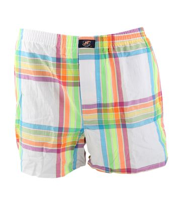 Suitable Boxershort Weiß karo