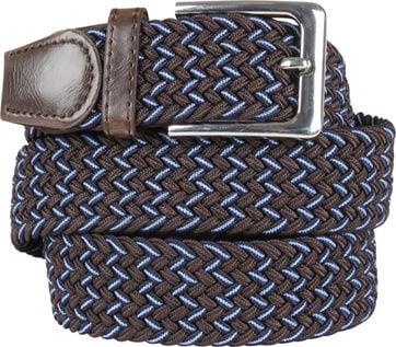 Suitable Braided Belt Brown