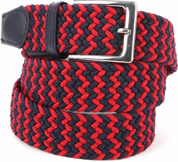 Suitable Braided Belt Taupe Multicolour