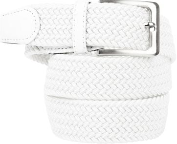 Suitable Braided Belt White