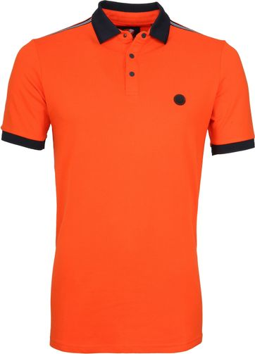 Suitable Branson Polo Stretch Oranje