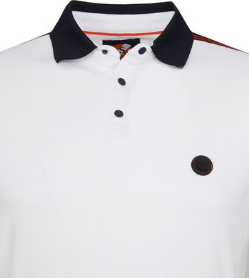 Suitable Branson Polo Stretch Wit