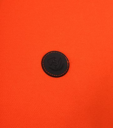 Suitable Branson Poloshirt Stretch Orange