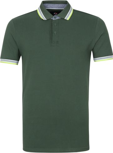 Suitable Brick Polo Shirt Dunkelgrün