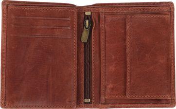 Suitable Brieftasche Nikkei Braun Leder - Skim Proof