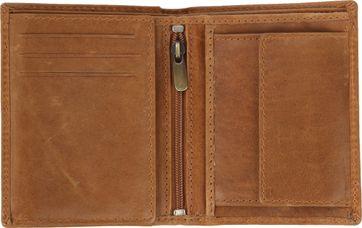 Suitable Brieftasche Nikkei Hellbraun Leder - Skim Proof