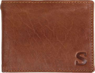 Suitable Brieftasche Tan Braun Leder - Skim Proof
