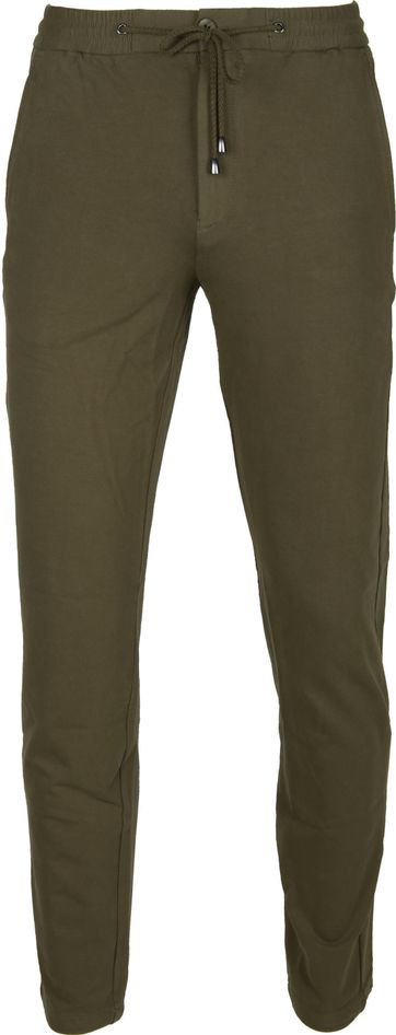 Suitable Broek Enrico Olive