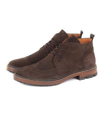 Suitable Brogue Boots Braun