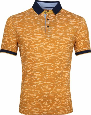 Suitable Camouflage Poloshirt Orange