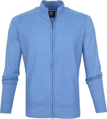 Suitable Cardigan Freddy Blauw