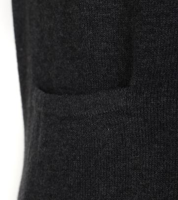 Detail Suitable Cardigan Gert Antraciet