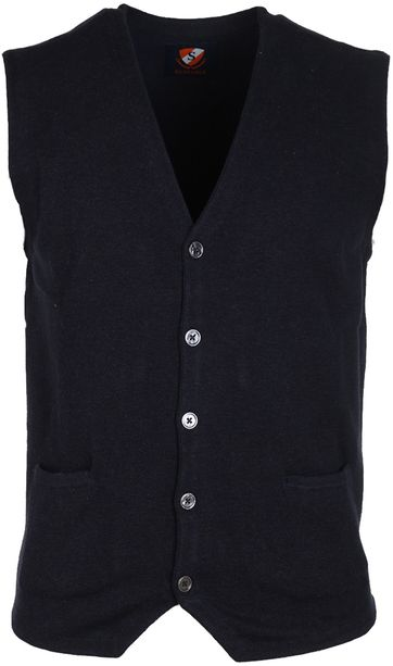 Suitable Cardigan Gert Dunkelblau