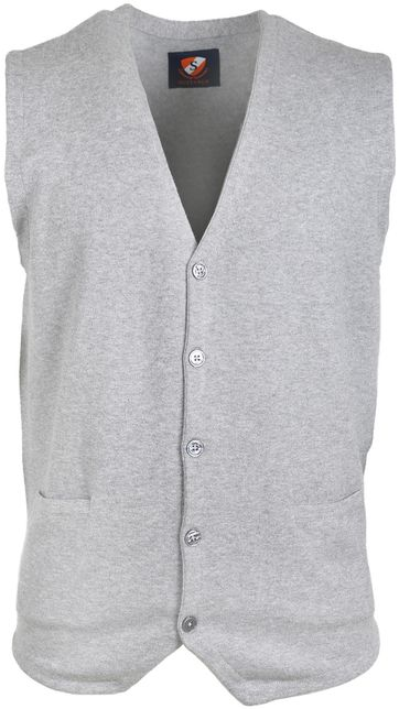 Suitable Cardigan Gert Grey