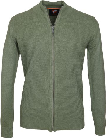 Suitable Cardigan Hank Olive