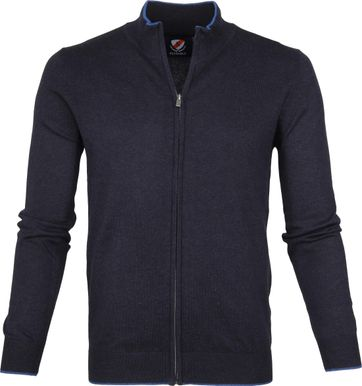 Suitable Cardigan Hans Navy