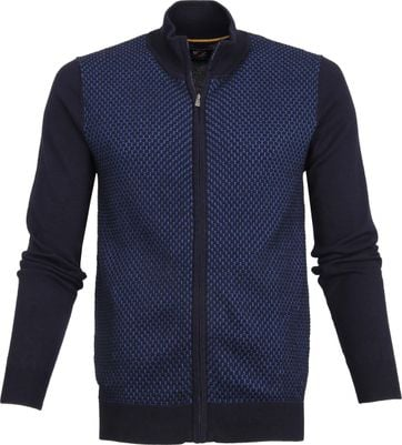 Suitable Cardigan Jesse Navy Blau