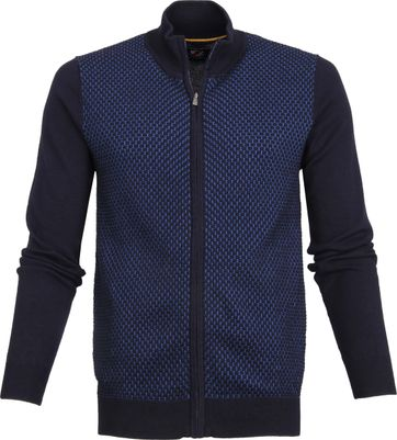 Suitable Cardigan Jesse Navy Blue