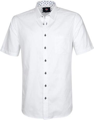 Suitable Cas Hemd Weiß