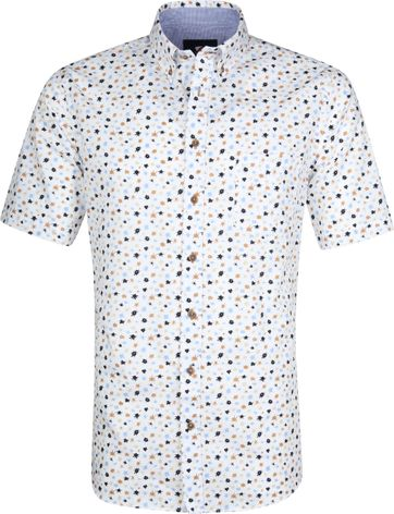 Suitable Cas Shirt Splashes White