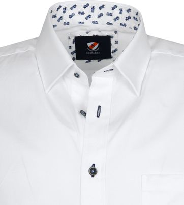 Suitable Cas Shirt White