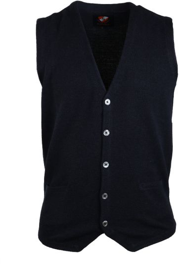 Suitable Casual Gilet Donkerblauw