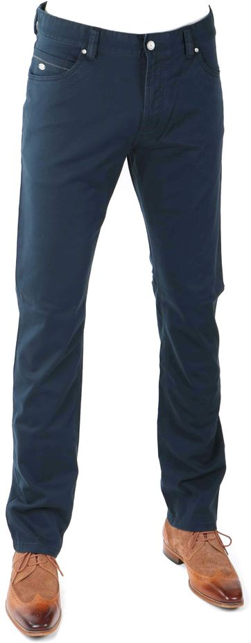 Suitable Chino 5-Pocket Dunkelblau