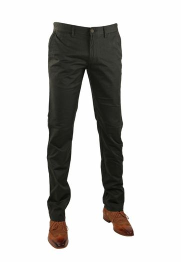 Suitable Chino Broek Dante Olijfgroen