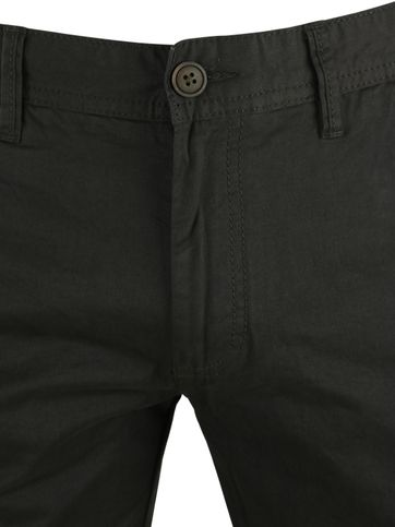 Detail Suitable Chino Broek Dante Olijfgroen