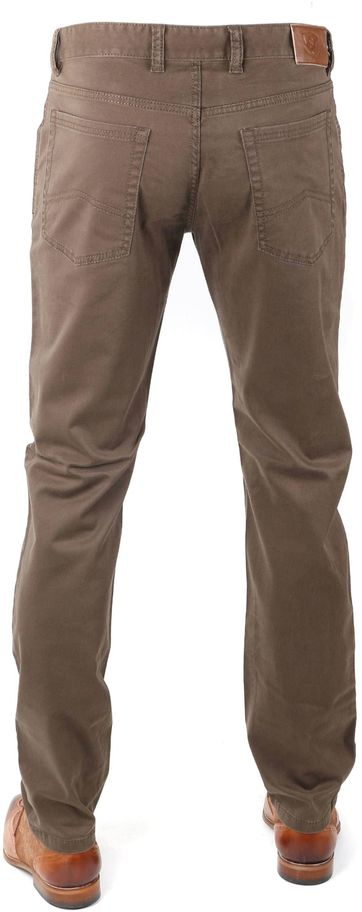 Suitable Chino Brown / Green