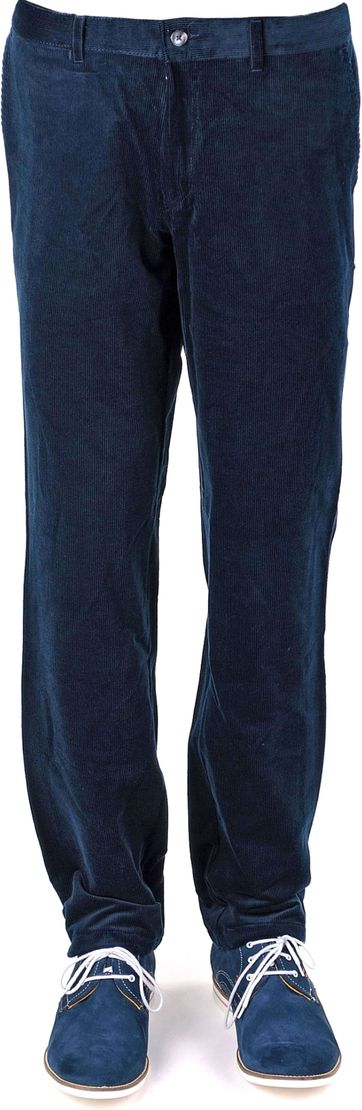 Suitable Chino Cord Blau