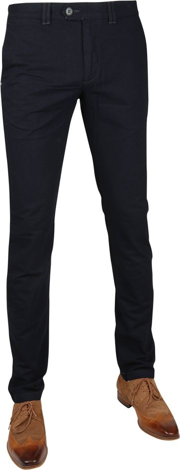 Suitable Chino Dante Dessin Navy