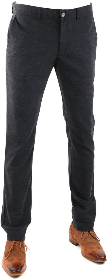 Suitable Chino Dante Donkerblauw