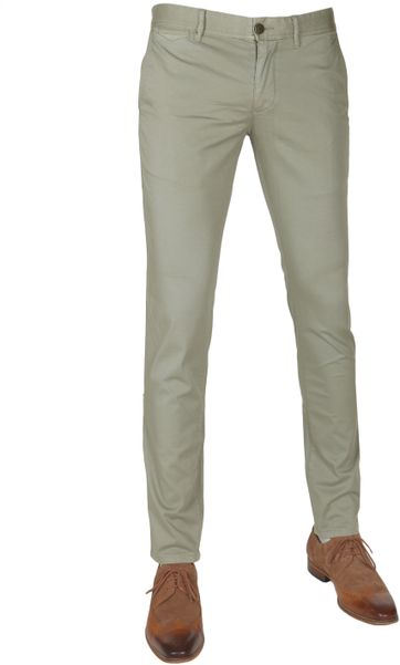 Suitable Chino Dante Smart Olive