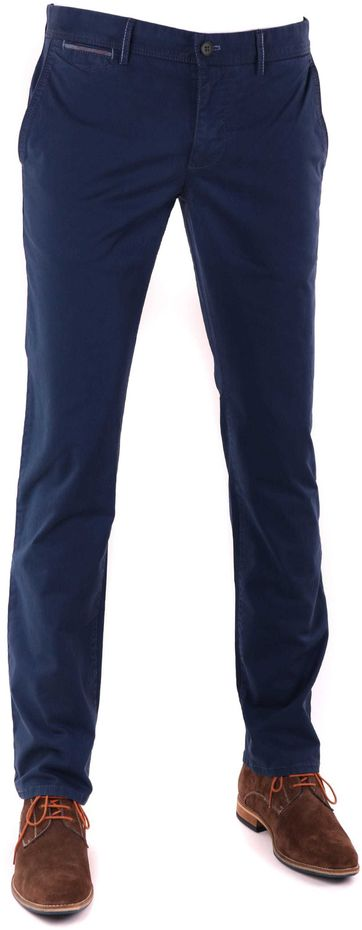Suitable Chino Hose Dark Blue