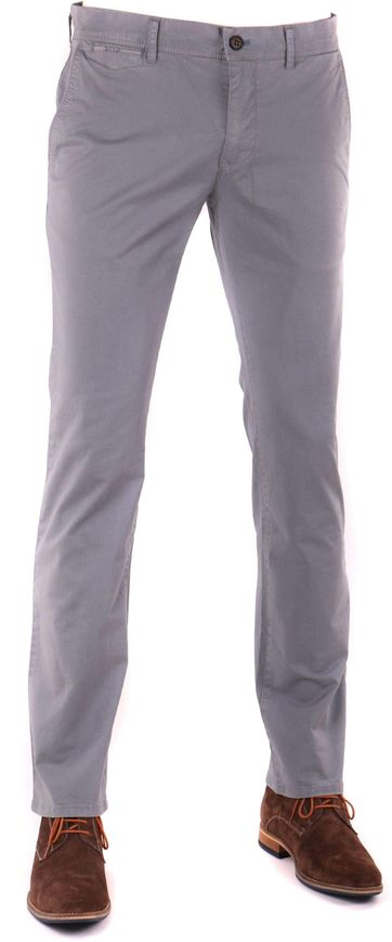 Suitable Chino Hose Grau