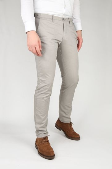 Suitable Chino Locke Grau