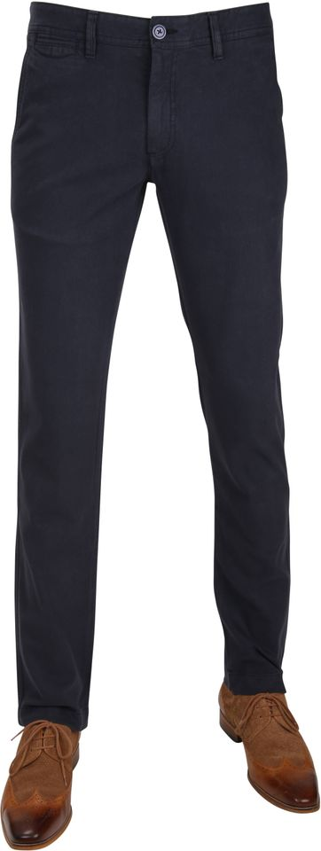 Suitable Chino Oakville Dessin Navy