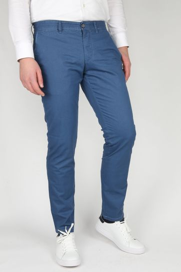 Suitable Chino Sartre Blue