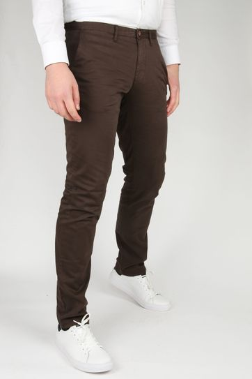 Suitable Chino Sartre Dark Brown