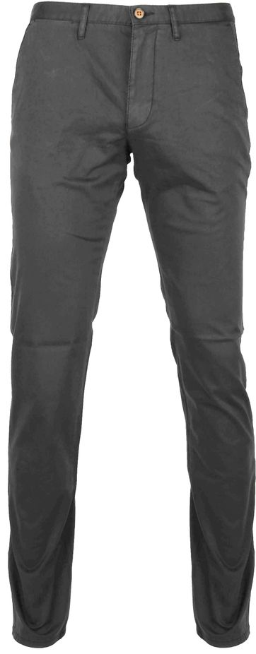 Suitable Chino Sartre Dark Grey