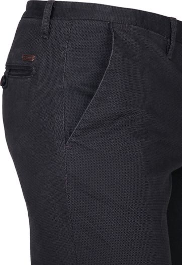 Suitable Chino Sartre Donkerblauw