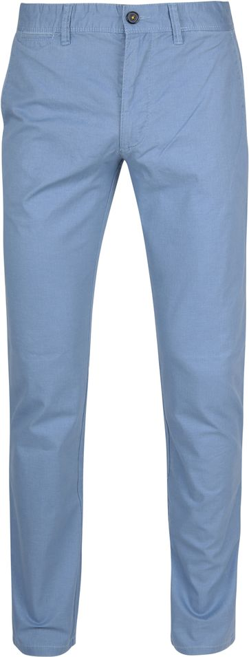 Suitable Chino Sartre Light Blue