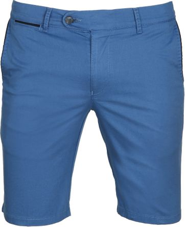 Suitable Chino Short Blauw